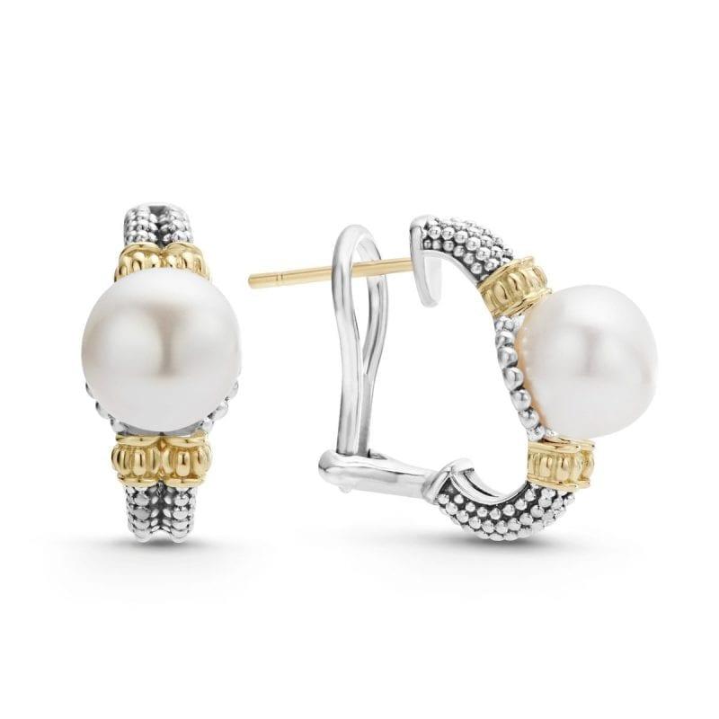 Lagos Luna Pearl Earrings