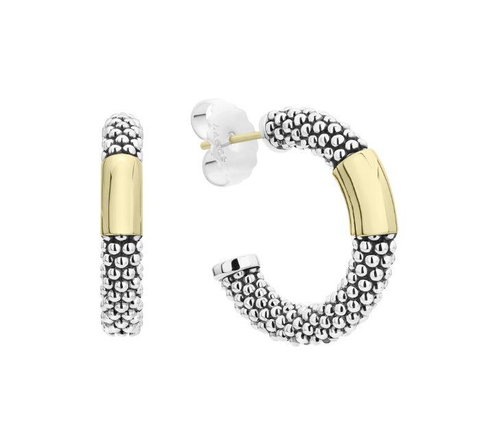 Lagos High Bar Hoop Earrings