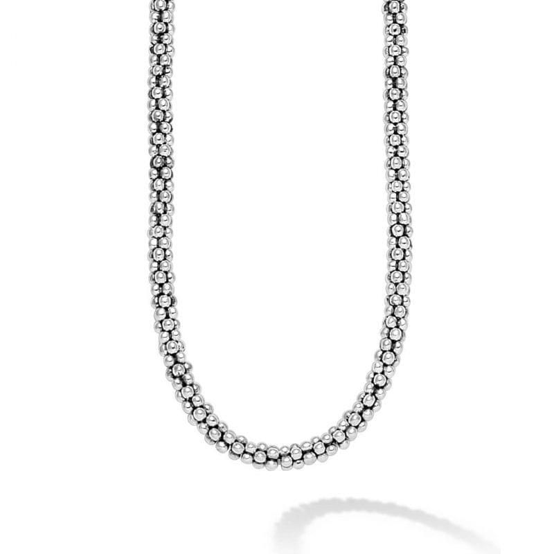 Lagos Signature Caviar Beaded Necklace