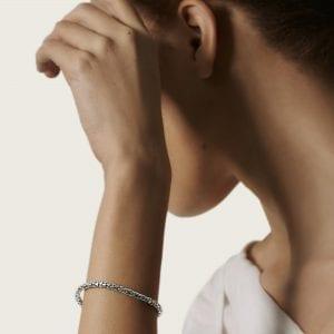 John Hardy Dot Slim Chain Bracelet