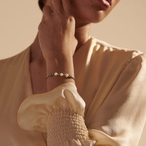 John Hardy Classic Chain Pull Through Bracelet with Freshwater Pearls
