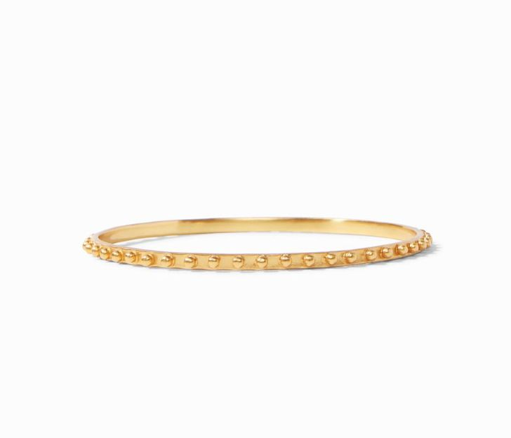 Julie Vos 24kt Yellow Gold Plate SoHo Bangle