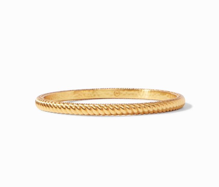 Julie Vos 24kt Yellow Gold Plate Olympia Bangle