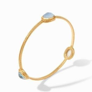 Julie Vos 24kt Yellow Gold Plate Calypso Bangle