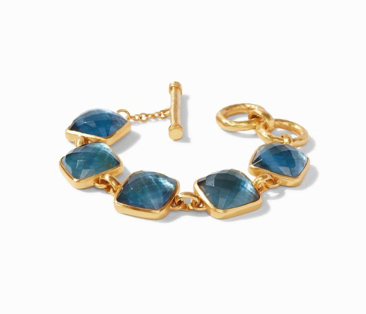 Julie Vos 24kt Yellow Gold Plate Catalina Bracelet