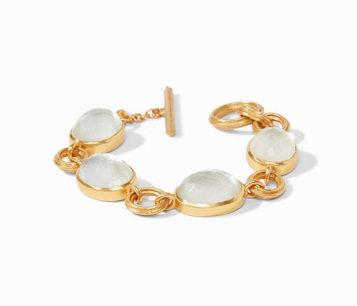 Julie Vos 24kt Yellow Gold Plate Barcelona Bracelet