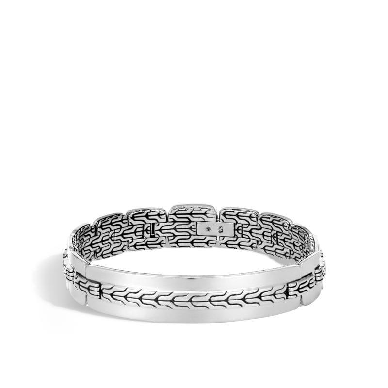 John Hardy Men's Sterling Silver Classic Chain Flat Bracelet