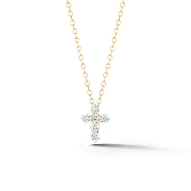 "Bailey's Icon Collection 18"" Diamond Cross Pendant Necklace"