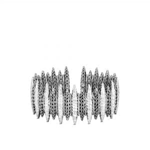 John Hardy Classic Chain Spear Hammered Flex Cuff Bracelet