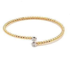 Forevermark Diamond Rope Bangle Bracelet
