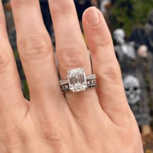 Forevermark Emerald Cut Diamond Ring in Platinum