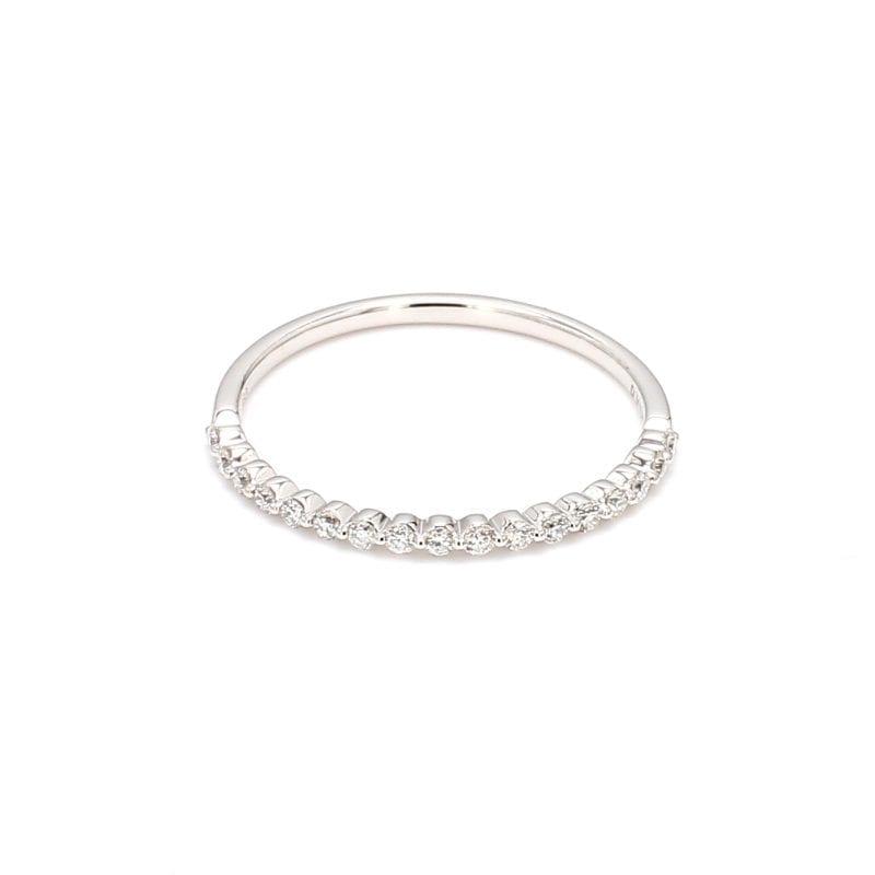 .15ct Single Prong Diamond Band Ring