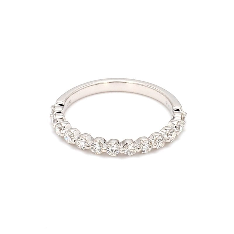 .50ct Single Cut Diamond Band Ring