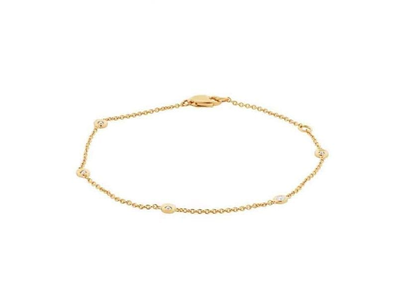 Bailey's Icon Collection .13ct Diamond by the Yard Bracelet