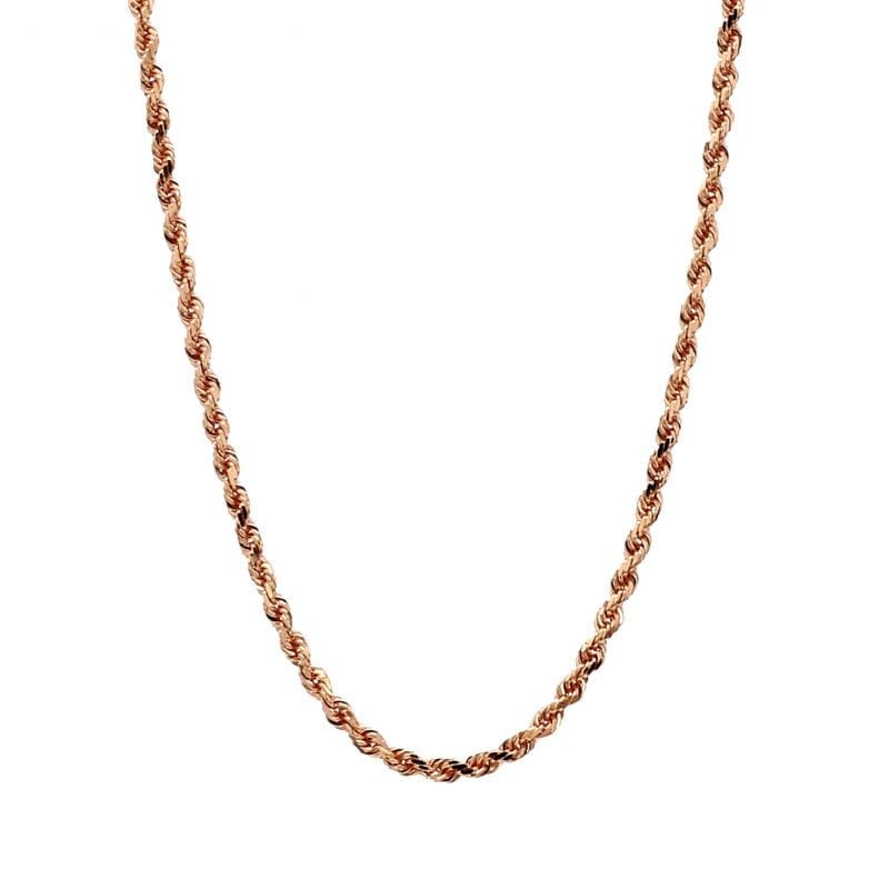 Bailey's Estate Cable Chain in 14k Rose Gold