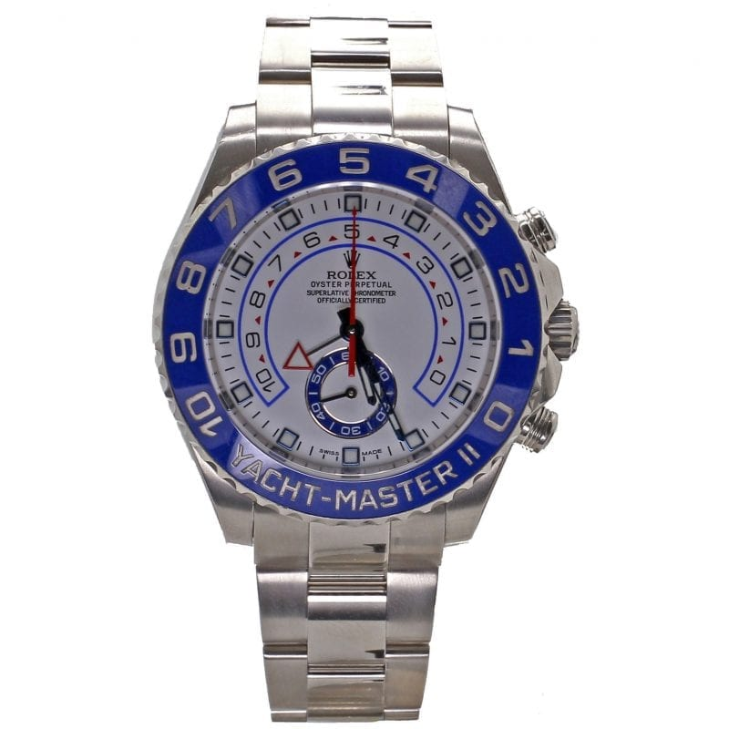 Bailey's Certified Pre-Owned Rolex 2016 Stainless 44mm Yacht-Master II