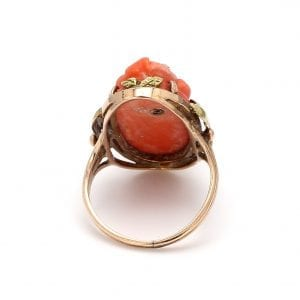Back view of ring.