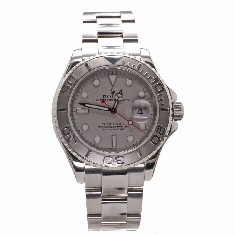 Pre-Owned Rolex 2006 Platinum & Stainless Yachtmaster
