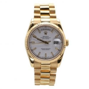Bailey's Certified Pre-Owned Rolex 2003 18KY Day-Date President