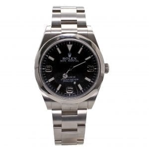 Pre-Owned Rolex 2012 Stainless Steel 39mm Explorer