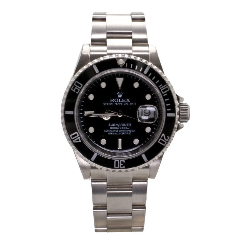 Pre-Owned Rolex 2008 Stainless Steel 40mm Submariner