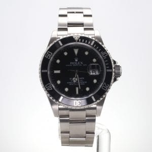 Pre-Owned Rolex 2007 Stainless Steel 40mm Submariner