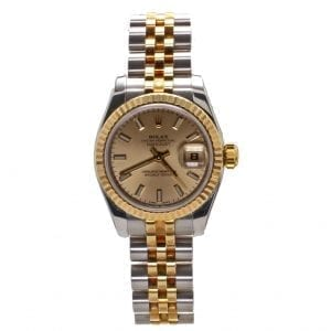 Pre-Owned Rolex 2007 18k Yellow Gold & Stainless 26mm Datejust