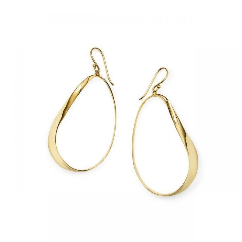 Ippolita Classico Hanging Twisted Ribbon Earrings