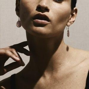 Ippolita 18K Gold Polished Rock Candy Mini Teardrop Earrings in Mother-of-Pearl