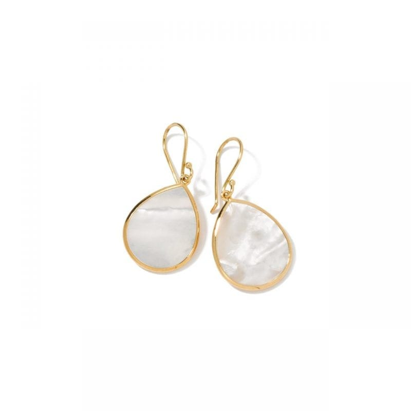 Ippolita Rocky Candy Small Stone Teardrop Earrings in 18K Yellow Gold