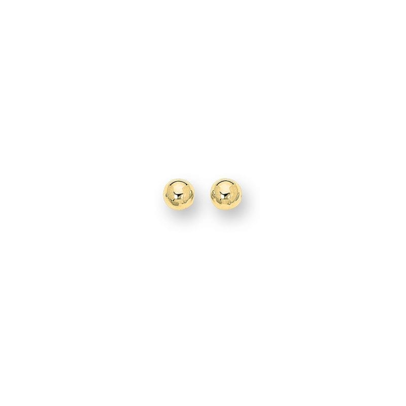 Bailey's Heritage Collection Gold Ball Stud Earrings