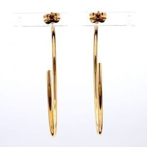 Bailey's Icon Collection Skinny Hoop Earrings