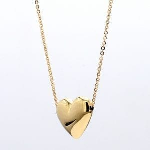 Bailey's Icon Collection Puffed Heart Necklace