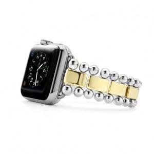 lagos gold apple watch strap