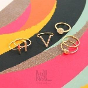 M&L Stacking rings