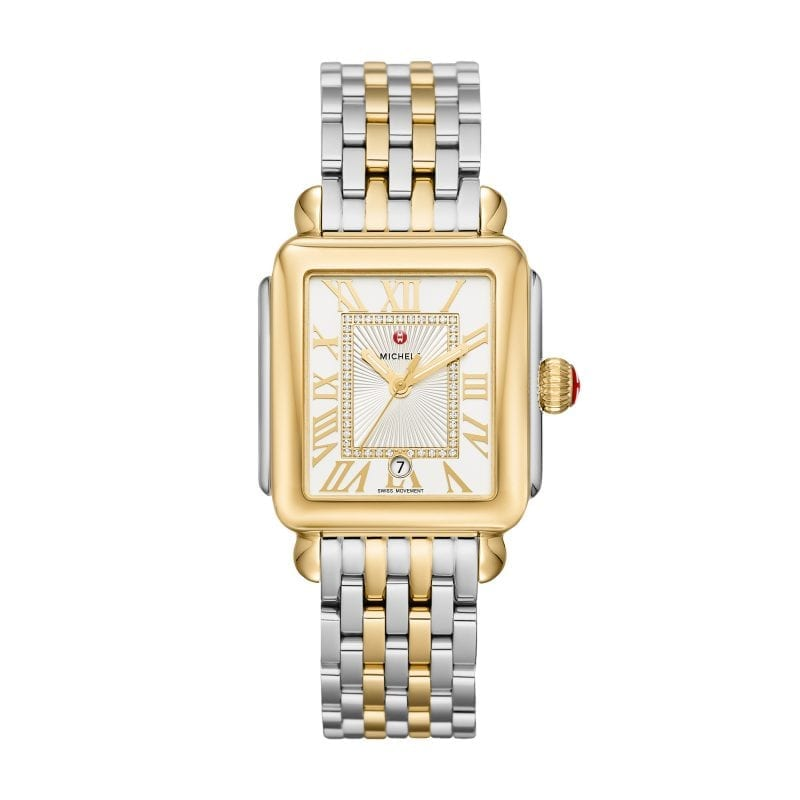 Deco Madison Two-Tone, Diamond Dial Complete Watch