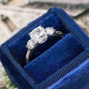 Bailey's Custom Workshop Replica of Meghan Markle's Engagement Ring Setting