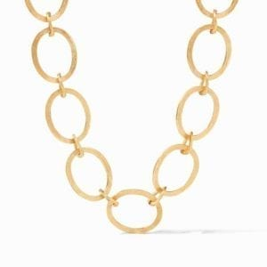 Julie Vos 24kt Yellow Gold Plate Aspen Link Necklace