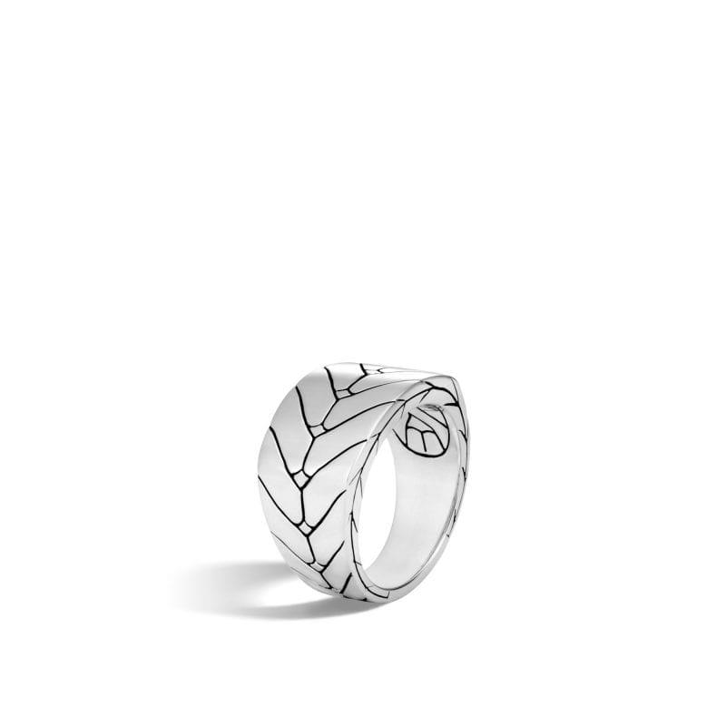 John Hardy Men's Sterling Silver Modern Chain Ring