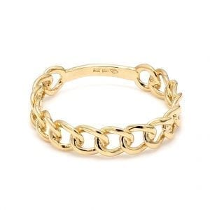 Bailey's Icon Collection Weaver Ring in 14k Yellow Gold