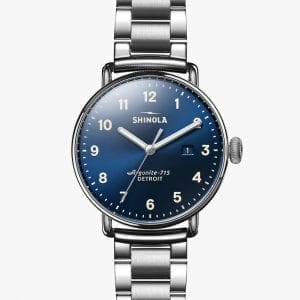Shinola Canfield 43mm Stainless Steel Men's Watch