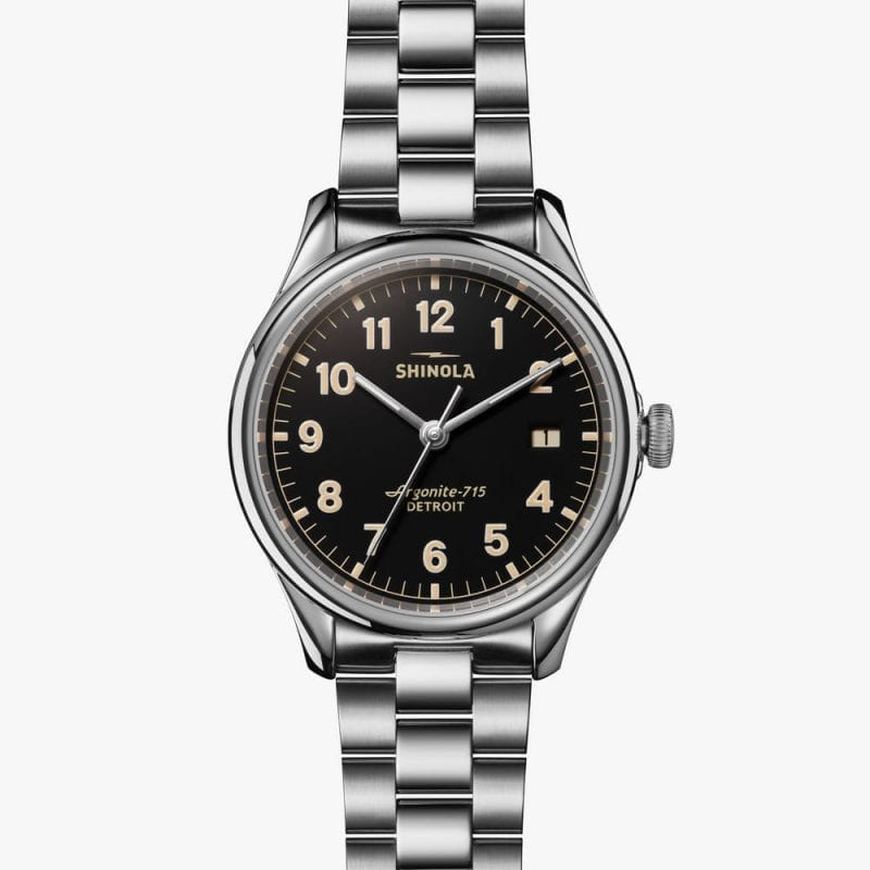Shinola Vinton Stainless Steel 38mm Men's Watch