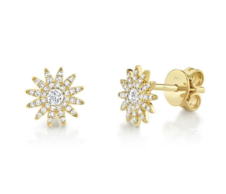Bailey's Icon Collection Sunburst Stud Earrings