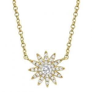 "Bailey's Icon Collection 18"" Sunburst Pendant Necklace"