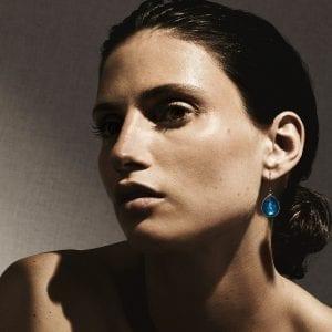 Ippolita Sterling Silver Rock Candy Teardrop Earrings in Clear Quartz