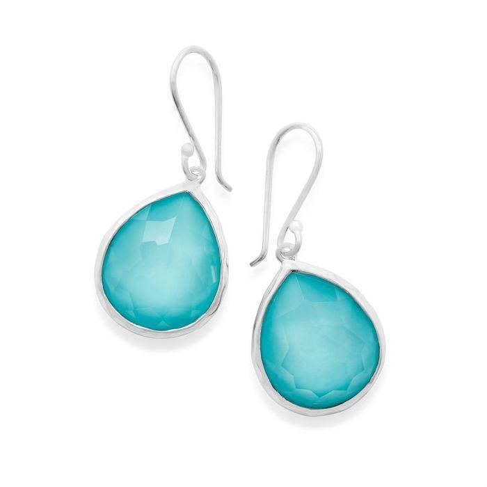 Bailey's Exclusive IPPOLITA Turquoise Doublet Medium Teardrop Earrings
