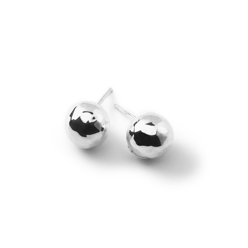 Ippolita Glamazon Ball Stud Earrings in Sterling Silver