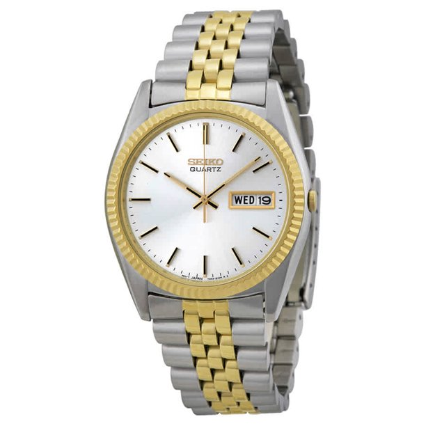 Seiko Stainless Steel & Yellow Gold Plate 36mmWatch