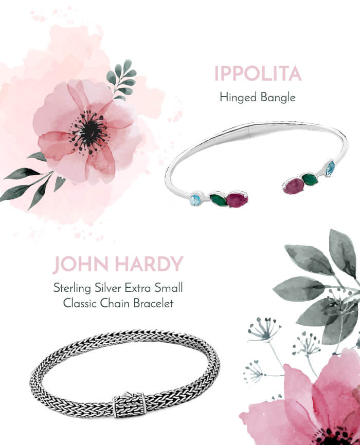 two bracelets for mothers day