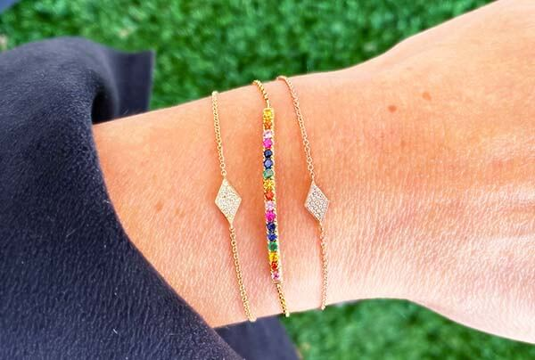 colorful bracelets from baileys fine jewelry